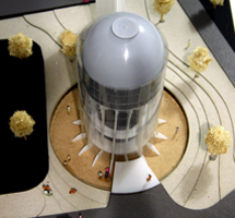 Tower Architectural Scale Model