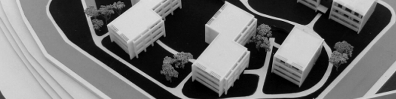 Residences for Elderly People Architectural Scale Model HEADER