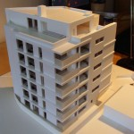 Residential Condominium Architectural Scale Model