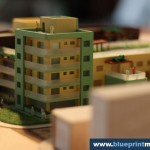 Residential Building Architectural Model 1:200 Scale