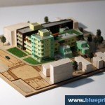 Apartment Buildings model maker