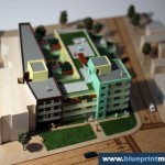 Residential Building Architectural Scale Model