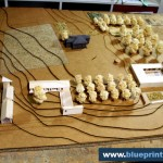 Rural Topographic Scale Model