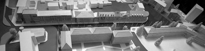 Scale Model of a Pedestrian Walk HEADER