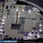 Industrial factory warehouse model