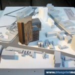 Architecture Scale Model Office Building