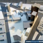 Scale Model Office Building