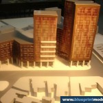 Scale Model of an Office Building Architecture Competition