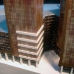 Scale Model of an Office Building
