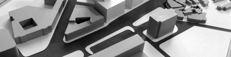 Scale Model of an Office Building - Architecture Competition HEADER