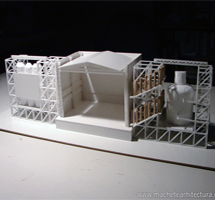 Scene Structure Architectural Scale Model
