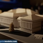 Courthouse Building Architectural Model