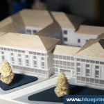 Soupreme Court Building Architectural Scale Model