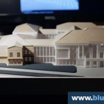 Courthouse Building Architectural Scale Model