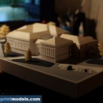 Soupreme Court Building architecture model