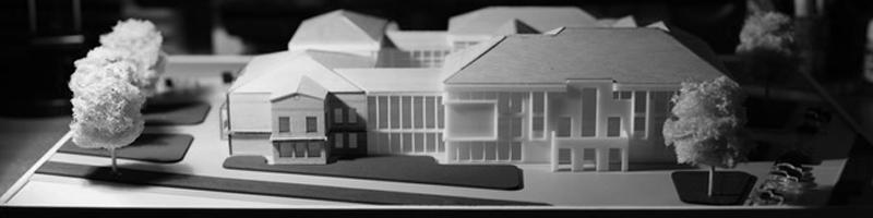 Soupreme Court Building Extension Architectural Scale Model HEADER
