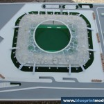 Stadion Concept Architectural Scale Model