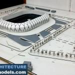 Sports Center Concept Architectural Model