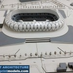 Stadion Concept Architectural Model