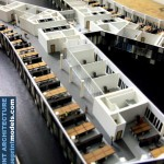 Office Building Architectural Scale Model