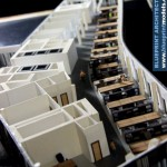 Floor Office Building Architectural Model