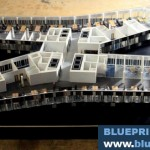 Floor Office Building Architectural Scale Model