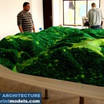 Topographical Model of an Mountainous