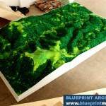 Topographical Model Mountainous