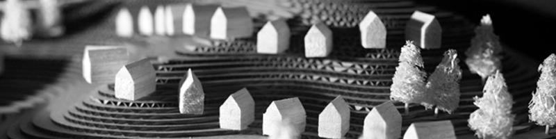Turist Development Buildings Architectural Scale Model HEADER
