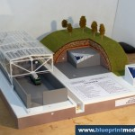 Hangar architectural model making