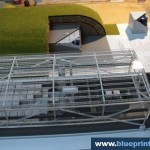 Underground Hangar Architectural Model