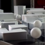 Urban Building Development Scale Model