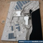 Building Development Area Architectural Model