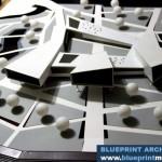 Research Center Architectural Scale Model