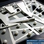 Visual Arts Center architecture model