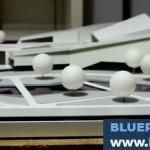 Research Center Scale Model Design