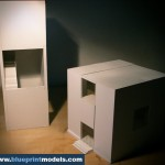 Volumetrical Shapes Architectural Scale Model