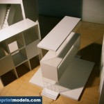 Volumetrical shapes Architectural Model
