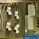 Winery Topographic Architectural Model