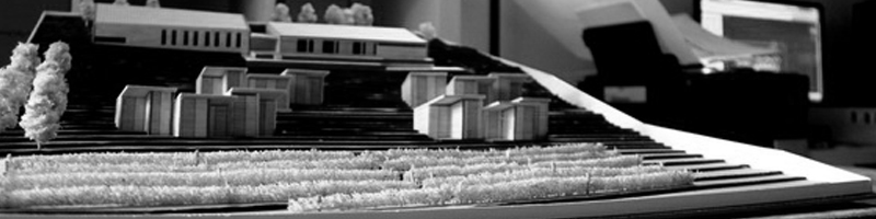 Winery Topographic Architectural Scale Model HEADER