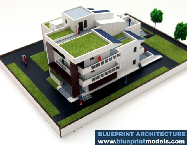 Architectural scale model eco house p2 architectural scale models project description malvernweather Choice Image