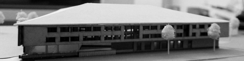 Social Housing Architectural Scale Model HEADER