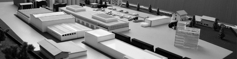 Cereals Factory Scale Model HEADER