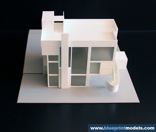 Scale Models Of Famous Houses Smith House Architectural