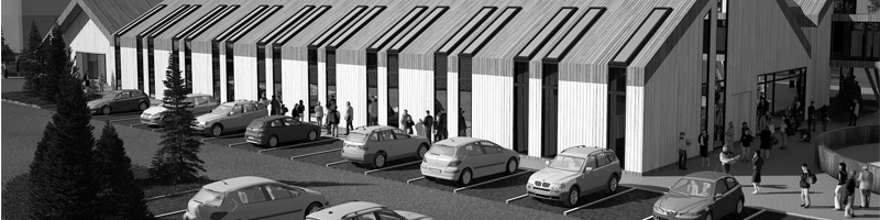Horsing Facilities in St Lorenzen Italy Architectural Renderings HEADER