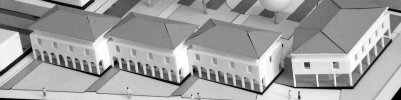 Housing and Recreational Facilities Architectural Scale Model HEADER