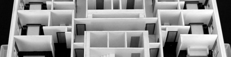 Apartments Details - Real Estate Architectural Scale Model HEADER