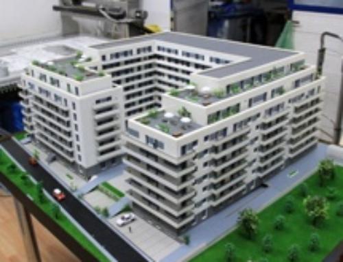 Scale Model – Militari Residence, Carol Park area