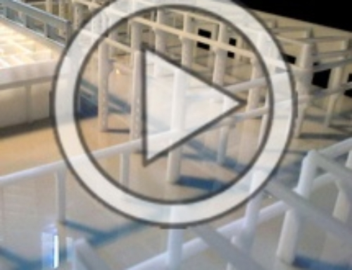 Scale Model – Demountable Industrial Warehouse VIDEO