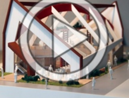 Scale Model – Romania's Pavilion at Milan Expo VIDEO